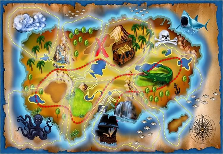 Картах в картинках детские